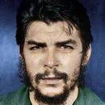 """Ernesto Guevara, uno de los líderes de la revolución cubana y autor del """"foquismo revolucionario""""."""