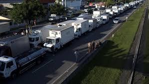 paro camioneros brasil