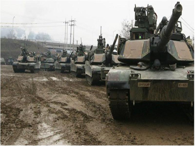 En mayo de este año, tanques norteamericanos arribaron al puerto belga de Amberes para su posterior despliegue en Europa del Este, como parte de la operación Atlantic Resolve.