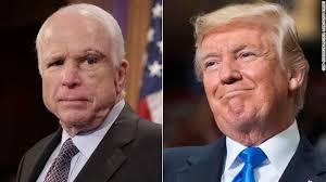 Jhon McCain, actual senador y ex candidato a presidente, es uno de los principales opositores a Trump y su visión proteccionista.