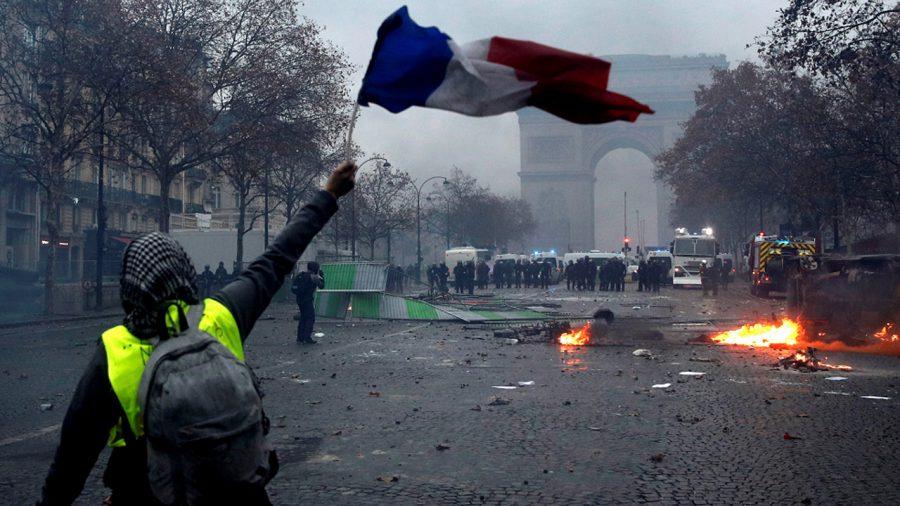 francia disturbio