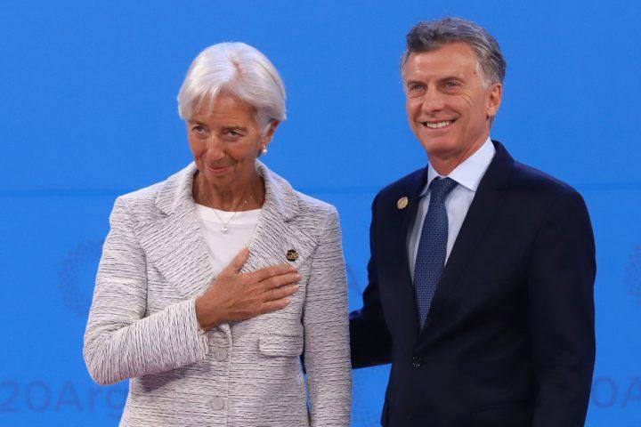 zzzznacp2NOTICIAS ARGENTINAS BAIRES, NOVIEMBRE 30: El presidente Mauricio Macri recibe a la titular del FMI, Christine Lagarde en el maco de la cumbre del G20. Foto NA: PABLO LASANSKYzzzz